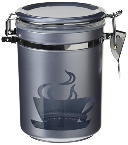 パール金属 コーヒー豆 保存 密閉 容器 M 丸タイプ CUP ブルー アルゴ MK-4147