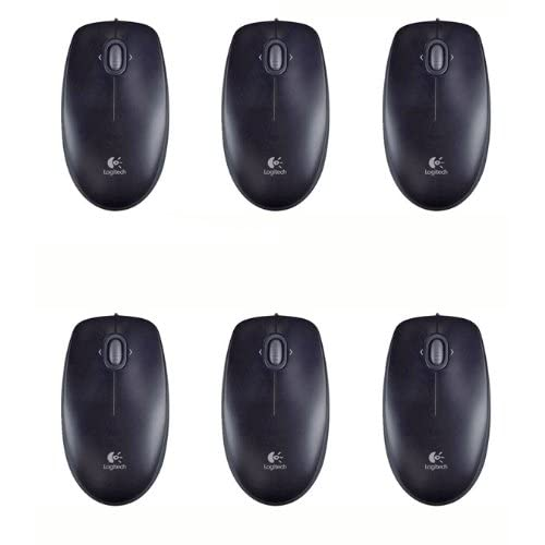 Logitech (910 001802) 6 Pack B120 Optical Combo Mouse Windows 7