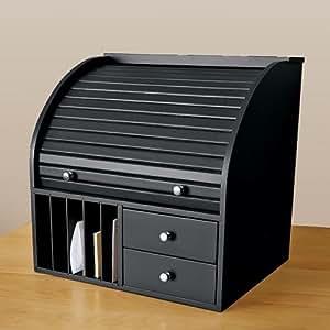 Top Of Desk Organizer Roll Top Desk Organizer With Mail