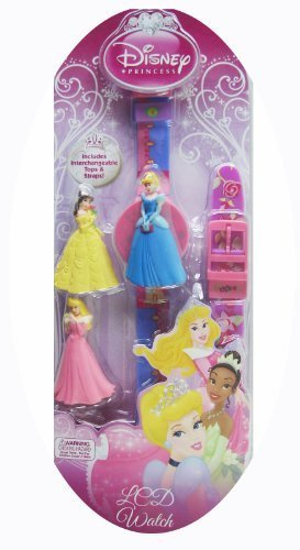 Disney Princess Watch With Bonus Interchangeable Cover and Bands