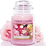 Yankee Candle Housewarmer Jar (Fresh Cut Roses) Small (3.7 oz)