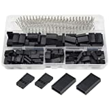 WMYCONGCONG 450 PCS Universal Servo Cable Wire Connector and Male Female Crimp Pin Kit for JR Hitec