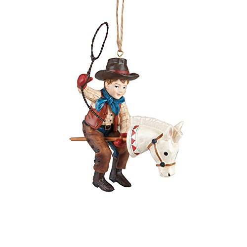 Giddy Up Cowboy Ornament