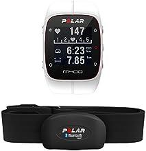 Polar M400 Montre Cardio/GPS Multisport avec Ceinture Cardiaque Blanc