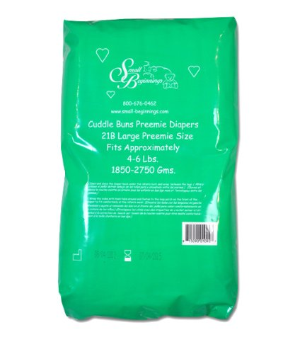 Cuddle-Buns Preemie Diapers, Under 4 Pounds - 1