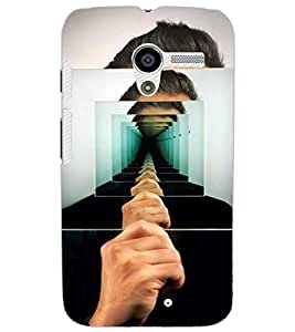 MOTOROLA MOTO XILLUSSION Back Cover by PRINTSWAG