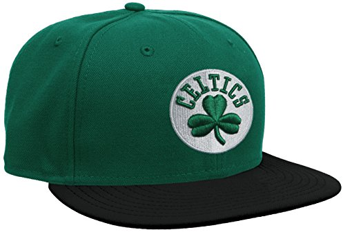 New Era Nba Basic Boston Celtics 59Fifty Fitted - Gorra para hombre, Green (Green/Black), 7 1/8inch - 57cm