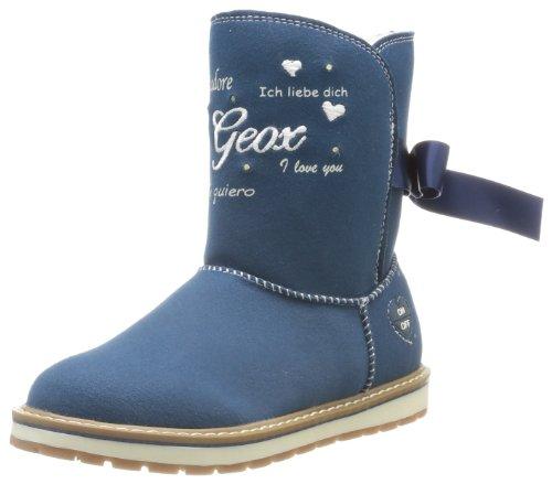 Geox Girls' J Noha H Boots Blue Bleu (Jeans) 34