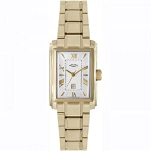 Rotary LB02805/06 Ladies Gold PVD Stainless Steel Bracelet Watch