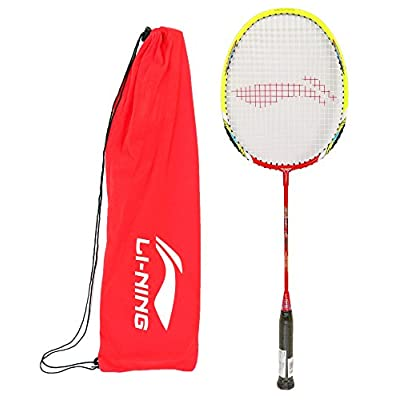 Li-ning Smash XP 80 II Strung Badminton Racquet (Red/Green)