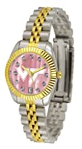 Virginia Tech Hokies Executive Ladies Watch with Mother of Pearl Dial