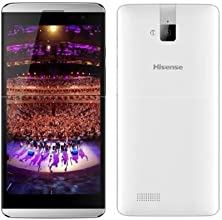 Hisense HS-U980BE-2 Smartphone (14 cm (5,5 Zoll) TFT Display, 1,5GHz, Quad-Core Prozessor, 8 Megapixel Kamera ) weiß