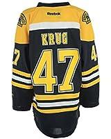 Boston Bruins Torey Krug Reebok Youth (8-20) Replica Home Jersey