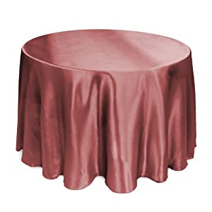 Linentablecloth 108 inch round satin for 108 inch round table cloth