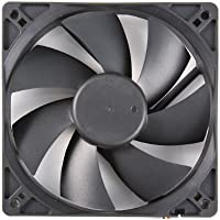 Rosewill RFA-120-K 120mm Computer Case Cooling Fan with LP4 Adapter (Black) for Free