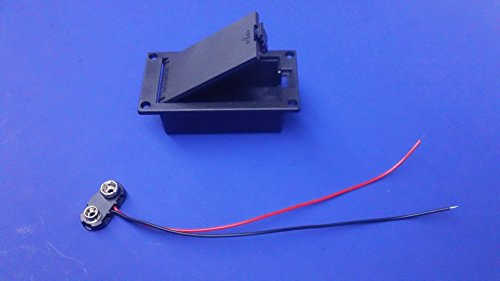 active-guitar-bass-pickups-9v-battery-holder-case-box-9-volt-with-9v-power-cable-cord-custom-guitar-