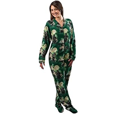 Three Wolf Moon pjs with drop seat