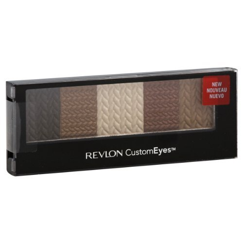 Revlon CustomEyes 5 Shade Eyeshadow Shadow & Liner - 020 Naturally Glamourous by Revlon