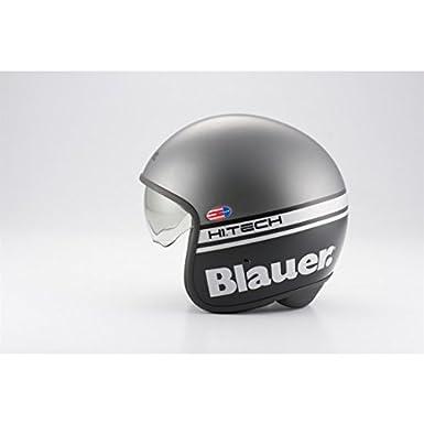 Casque blauer pilot gris/noir mat s - Blauer BLCJ107S