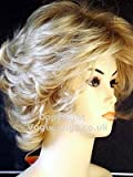 Forever Young Short Strawberry Blonde Mix Number 88T27 Ladies Textured Wedge Style with Tousled Layers Fashion Wig