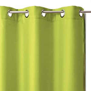 Blackout Curtain Ready To Hang 140 X 260cm Lime Green Kitchen Home