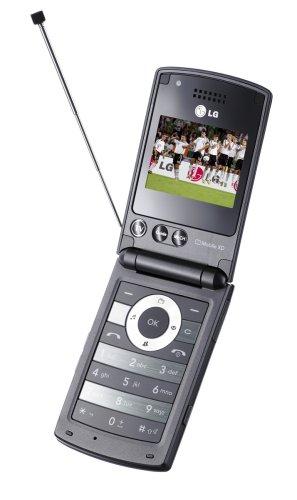 LG HB 620 T UMTS Handy mit DVB-T (HSDPA, MP3-Player, TV-Empfänger, 2MP-Kamera) schwarz