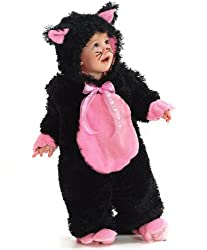 Black Kitty Infant/Toddler Costume(4T-Black)