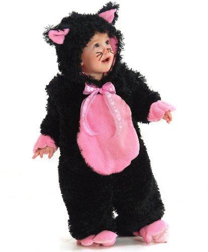 黒猫 ベビー・幼児用 コスチューム 着ぐるみ / Black Kitty Infant サイズ:XX-Small (18M-2T)