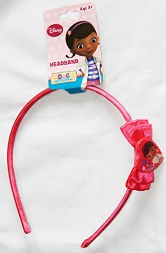 Disney Junior Doc McStuffins Head Alice Band with Bow Hair Accessory