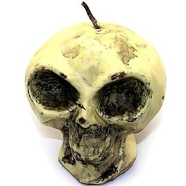 Halloween Skull Human Skeleton Fondant Cake Chocolate Candle Silicone Mold,L8.7cm*W8.7cm*H7.9cm