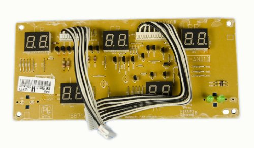 Lg Electronics 6871W1N010H Electric Range Main Pcb Display Assembly front-574146