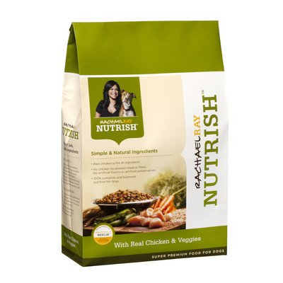 Rachael Ray Nutrish Dry Dog Food, 'Chicken & Vegetable Recipe', 28-Pound from DAD'S Products Co, Inc.
