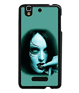 printtech Vampire Girl Blood Back Case Cover for Motorola Moto X Style