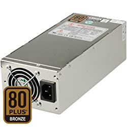 Dynapower SS-2U60EL 2U 600W Active PFC EPS 12V Short Depth 80 Plus Bronze Certified Server Power Supply