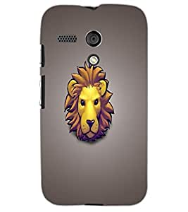 MOTOROLA MOTO G LION Back Cover by PRINTSWAG