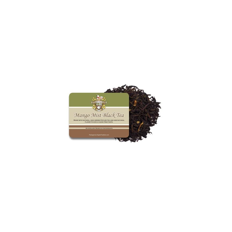 Mango Mist Black Tea   Loose Leaf   16oz