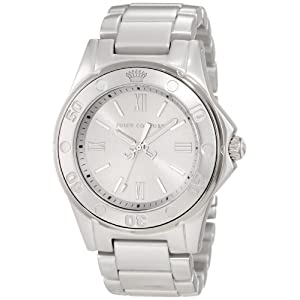 Juicy Couture Women's 1900887 RICH GIRL Silver Aluminum Bracelet Watch