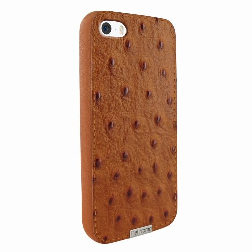 Best Price Apple iPhone 5 / 5S Piel Frama Tan Ostrich FramaGrip Leather Cover