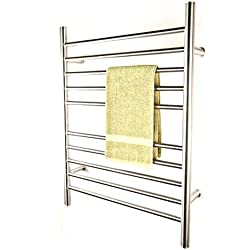Amba RWP-SP Radiant Plug-In Straight Towel Warmer, Polished