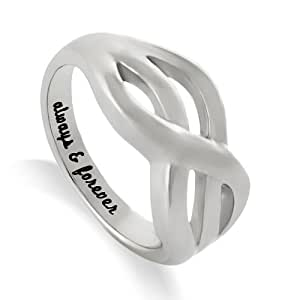 infinity ring promise ring infinity symbol