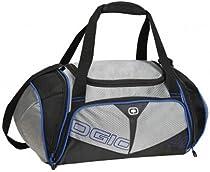 Ogio Endurance 2.0 Fitness Athlete Bag (Black/Blue,Medium)