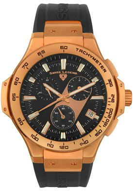 Swiss Legend Men's 40051-RG-01 Maverick Chronograph Rose Gold-Tone Watch