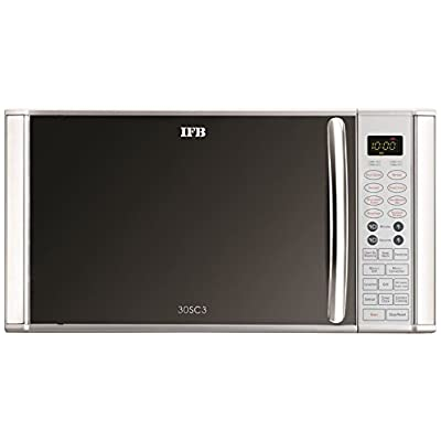 IFB 30SC3 30-Litre 1400-Watt Convection Microwave Oven (Metallic Silver)
