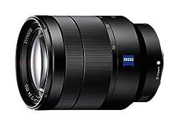 Sony SEL2470Z Vario-Tessar T FE 24-70mm F4 ZA OSS Lens (Black)