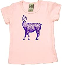 Dolly Llama on Short Sleeve Unisex Toddler Fine Jersey T-shirt