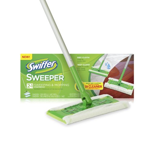 SAVE $13.48 - Swiffer Sweeper Dry Sweeping Cloths, Mop and Broom Floor ...