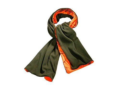 wendefleeceschal-signalschal-in-olive-und-realtree-orange-blaze