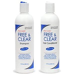 free and clear hair