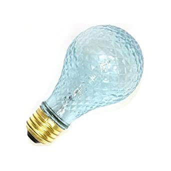 Ge 72374 100acry H Rvl Cd 100 Watt Halogen Reveal Crystal A19 Bulb