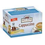 Grove Square Cappuccino, French Vanilla, Single Serve Cup for Keurig K-Cup Brewers, 72 Cups by Grove Square Cappuccino